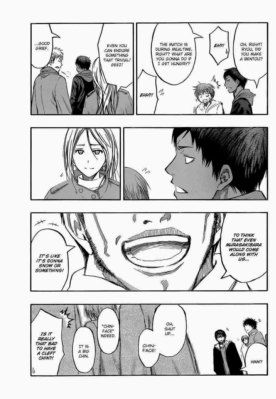 Kuroko no Basket Manga Chapter 230 - Image 03