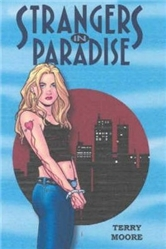 Strangers in Paradise Pocket Book vol 1 by Terry Moore