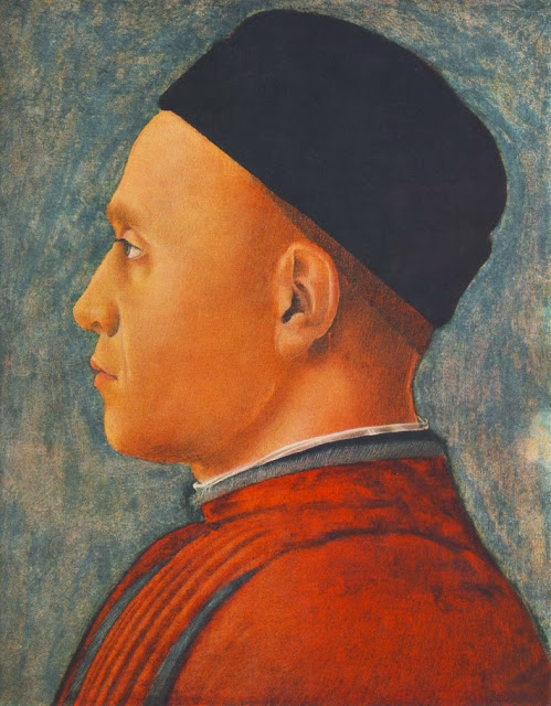 Andrea Mantegna - Portrait of a Man