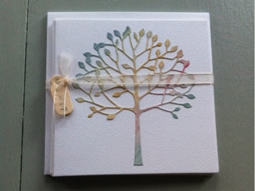 Watercolour Tree Notelets