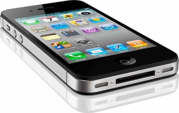 Apple iPhone 4S крупным планом