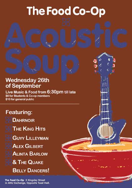acoustic soup poster