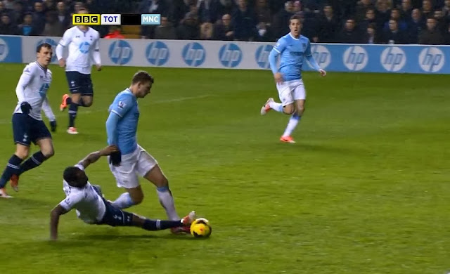 Dzeko, Tottenham - Manchester City