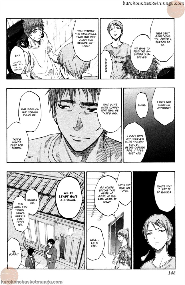Kuroko no Basket Manga Chapter 59 - Image /0018