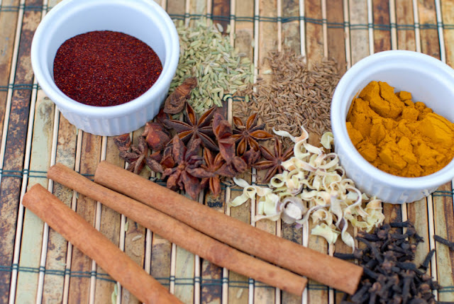 spices for curry mix