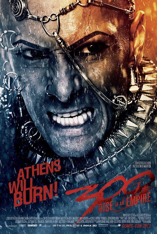 300 RISE OF AN EMPIRE Rodrigo Santoro as Xerxes Athens Will Burn