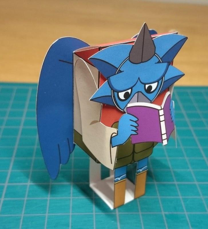 Yokai Watch Nekurama Tengu Papercraft