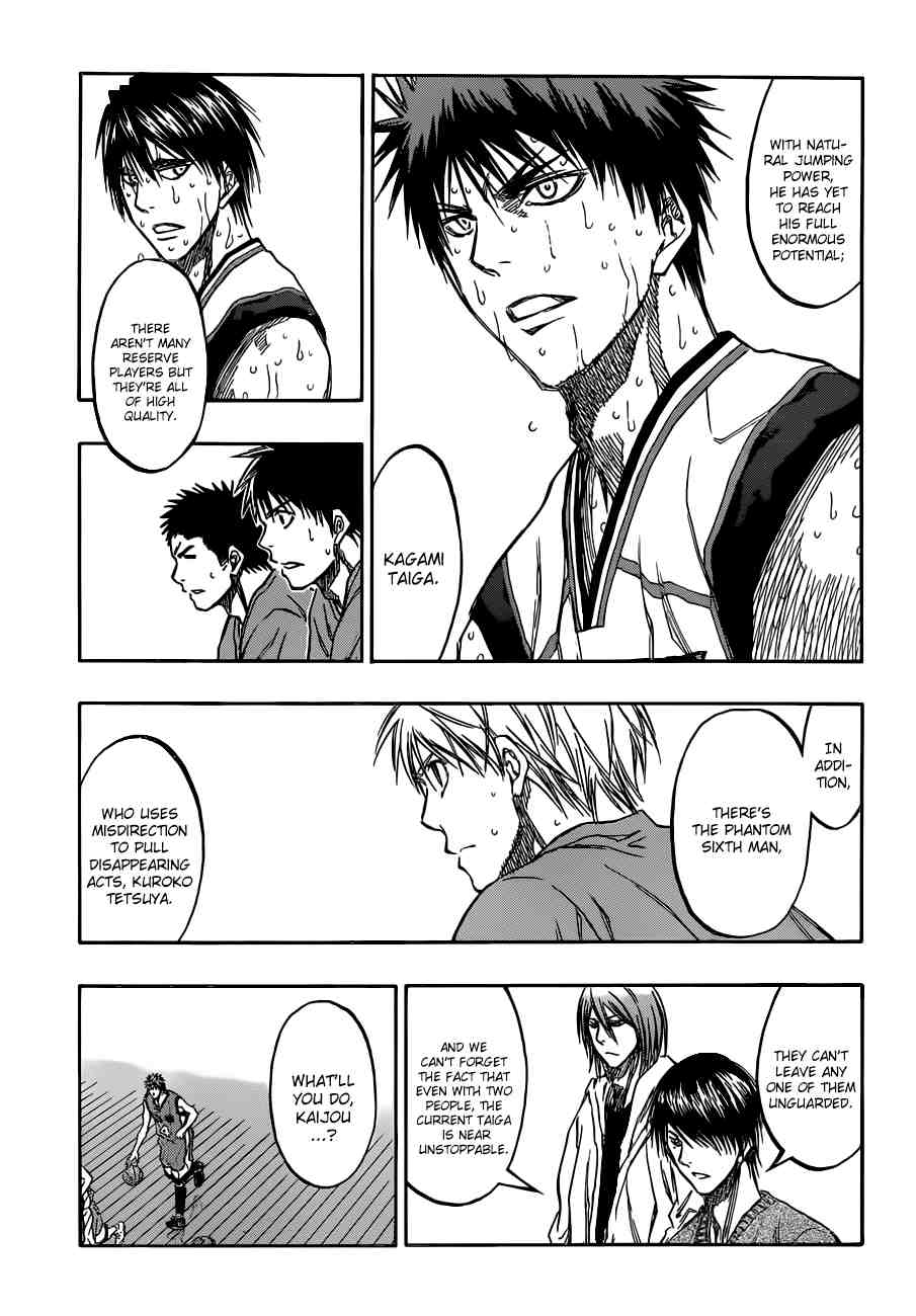 Kuroko no Basket Manga Chapter 193 - Image 09