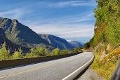 Дорога в долине Одда