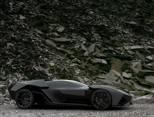 Black concept car