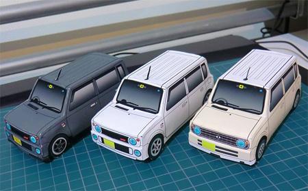 Suzuki Lapin Papercraft