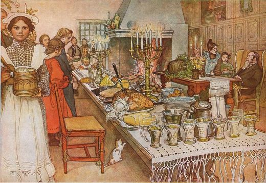 'Christmas Eve' by Carl Larsson, 1904