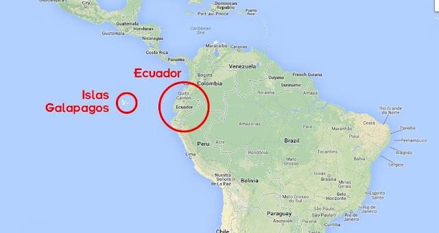 Ecuador Donde está?