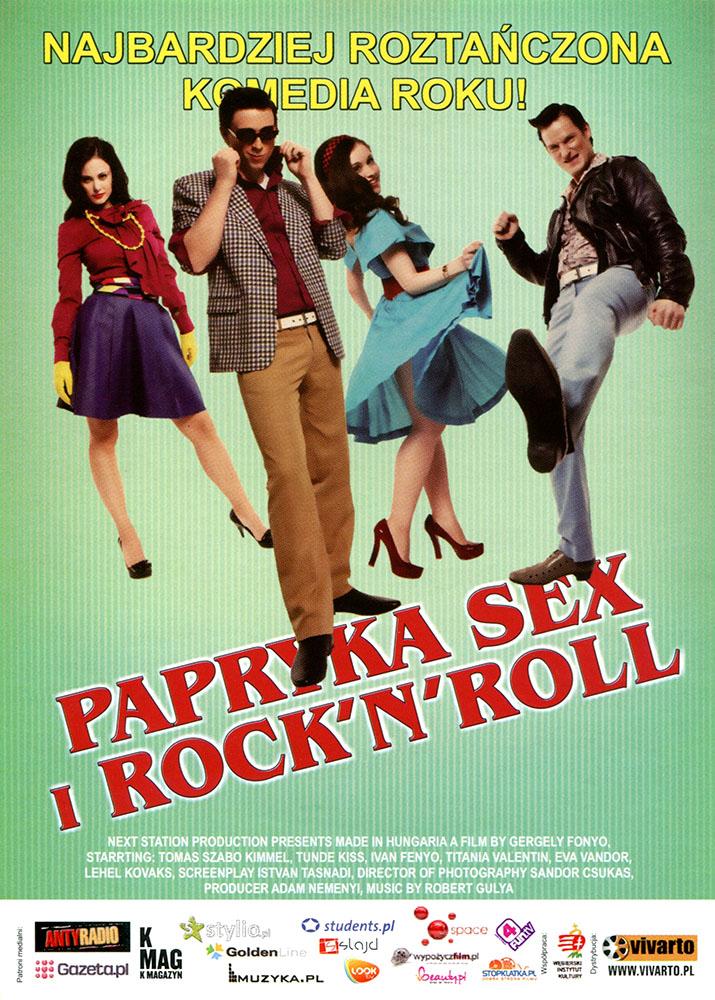 Ulotka filmu 'Papryka, Sex i  Rock\\\\\\\'N\\\\\\\'Roll (przód)'