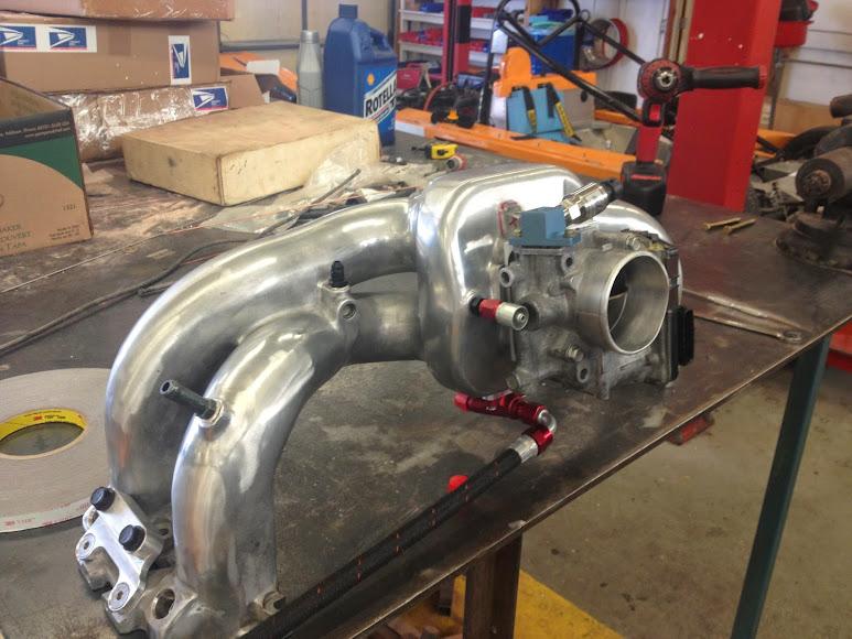 Moore Performance Twin-Scroll Turbo Kit on stock engine LGT