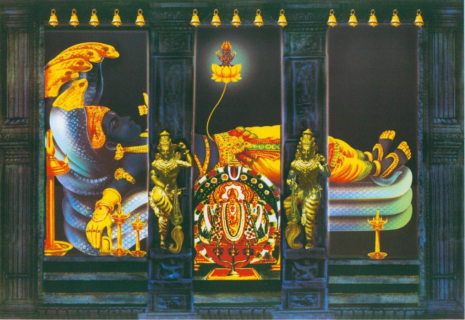 Sri Anantha Padmanabhaswamy Temple (Thiruvananthapuram) Kerala - Divya Desam 83