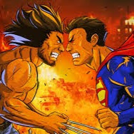 Wolverine Superman picture