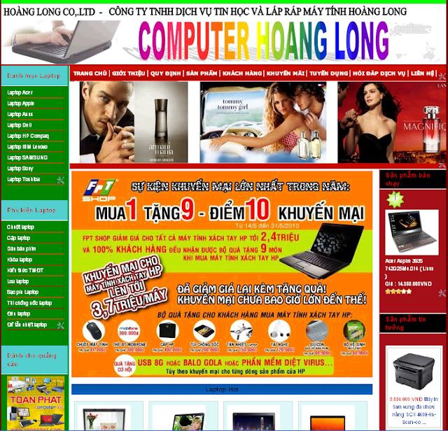Dự án thiết kế website doanh nghiệp 10