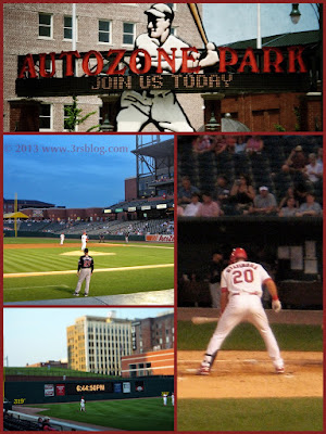 Memphis Redbirds/AutoZone Park photo collage   www.3rsblog.com