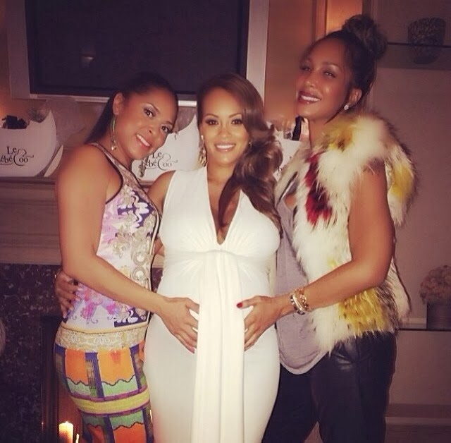 Inside Vh1s Evelyn Lozadas Baby Shower Photos