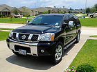 "05 TITAN CREW CAB 4X2 LE 20"" WHEELS NAV TOW PACKAGE w/SnugTop XTR Shell 1 OWNER!"
