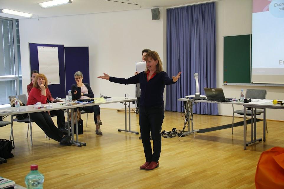 Lilijana Pahor in delavnica o razvijanju podjetništva