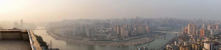 Vistas desde la pagoda de Eling park