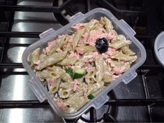 ... Cheese: Tuna Pasta Salad Recipe with Lemon, Green Olives, and Cucumber