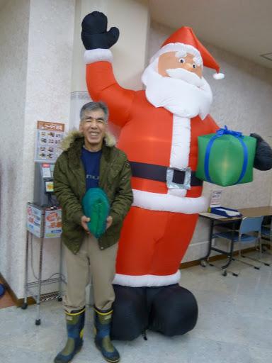 サンタクロースと信治さん
