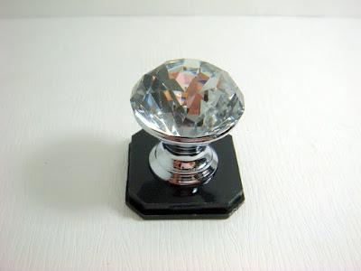 裝潢五金品名:6601-水晶取手規格:30MM玖品五金