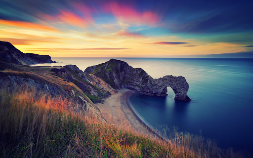 England Sea Durdle Door