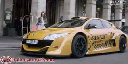 Taxi taksi mewah tercepat Renault Megane Trophy V6