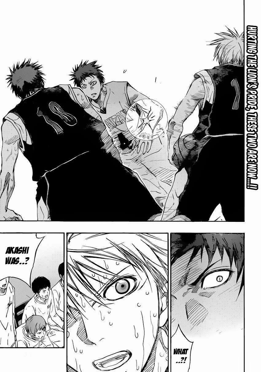 Kuroko no Basket Manga Chapter 264 - Image 05