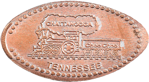 Chattanooga Choo Choo penny