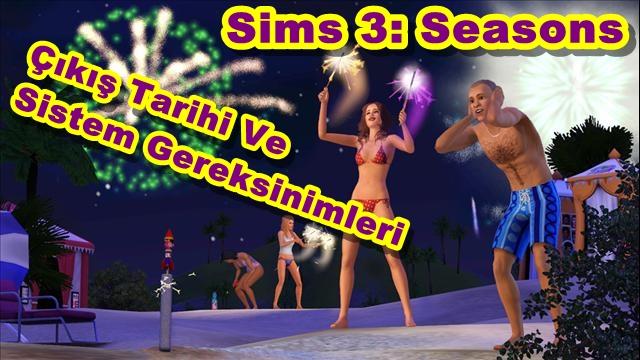 Sims 3: Seasons'ın Çıkış Tarihi ve PC Sistem Gereksinimleri