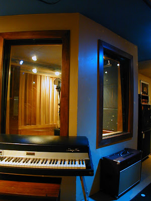 Threshold Recording Studios NYC Vocal Booth