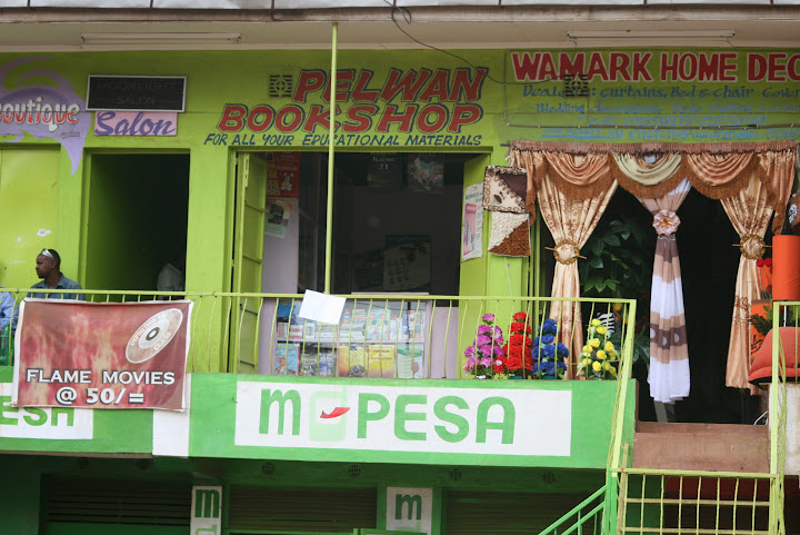 M-Pesa : responsible for much of Kenya's Paint