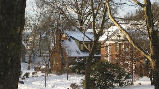 Winter on Grymes Hills, Staten Island