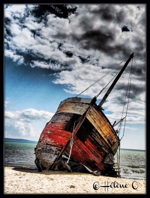 un vieux bateau échoué Bateau7