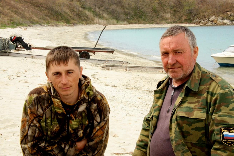 А.Тицкий (слева) и В.Пономарев