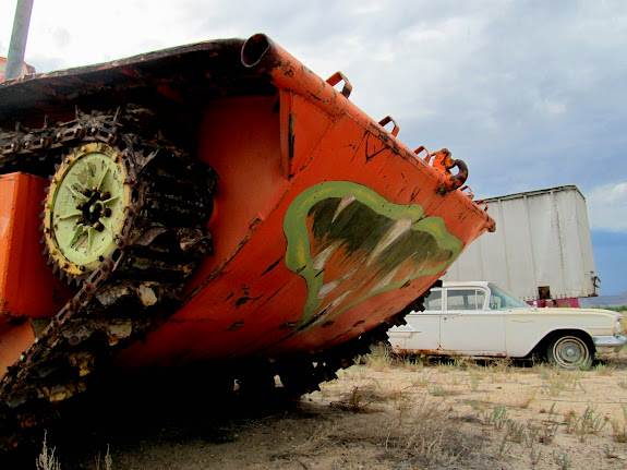 Old tank near Green River