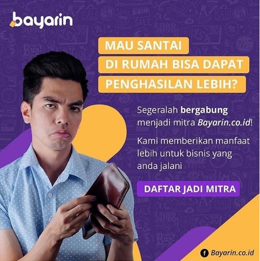 Peluang usaha PPOB Bayarin.co.id