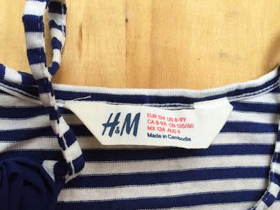 Đầm Maxi bé gái hiệu H&M, hàng xuất dư, made in cambodia.