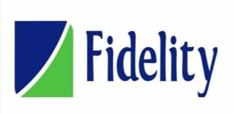 Logo of Fidelity bank.