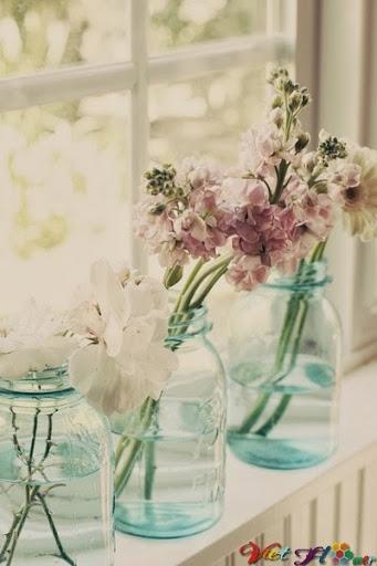 Biến chai lọ cũ thành lọ hoa