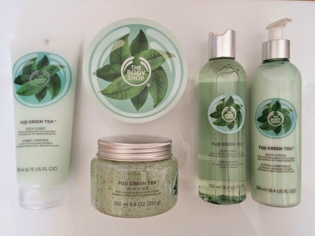 The Body Shop Fuji Green Tea, The Body Shop Fuji Green Tea Review, The Body Shop