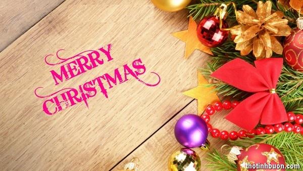 Thơ ngắn đêm Noel hay, thơ thất ngôn 4 câu mừng Giáng sinh