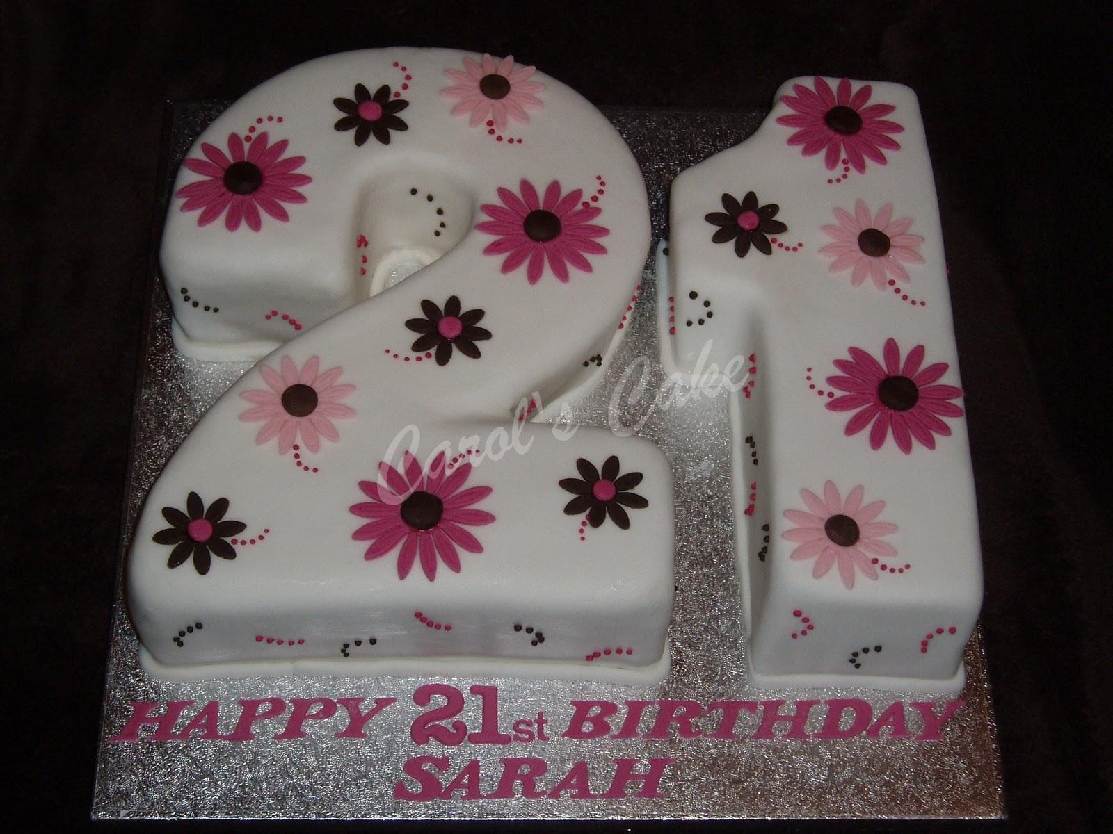 Number Cakes Carols Cake