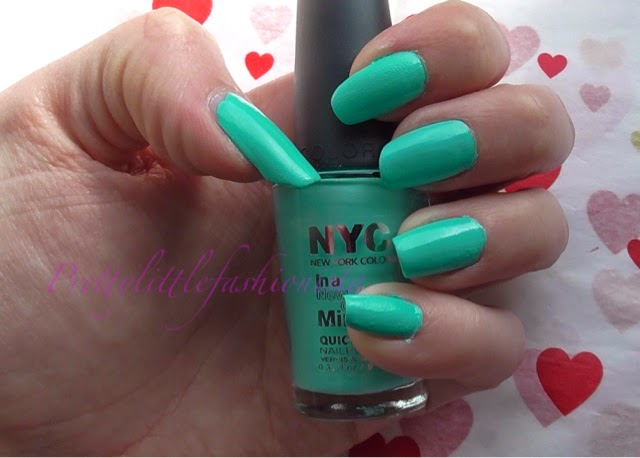 NYC Blue Sky Nail Polish