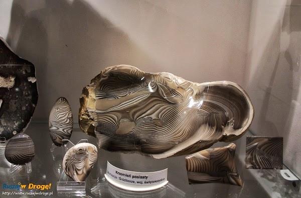 Muzeum Minerałów w Świętej Katarzynie - krzemień pasiasty